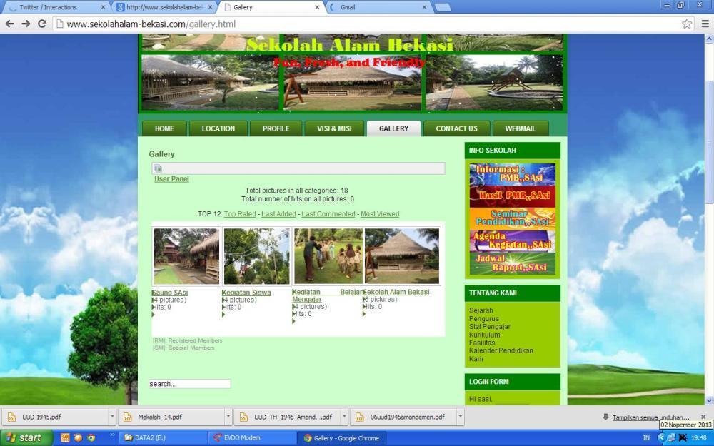 2 nop 2013 web sasi